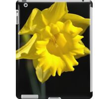 The Daffodil Glows iPad Case/Skin