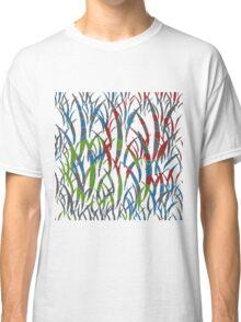 Multicolour Pattern Classic T-Shirt