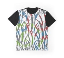 Multicolour Pattern Graphic T-Shirt