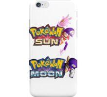 PokeWah Sun and Moon iPhone Case/Skin