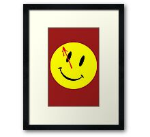 The Watchmen Movie Comedian Framed Print