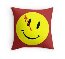 The Watchmen Movie Comedian Throw Pillow