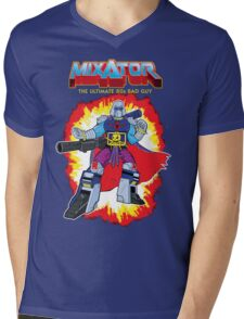 MIXATOR, The Ultimate 80s Bad Guy! Mens V-Neck T-Shirt