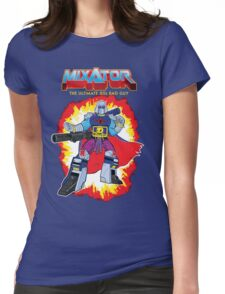 MIXATOR, The Ultimate 80s Bad Guy! Womens Fitted T-Shirt