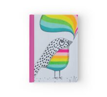 Colourful thinking Hardcover Journal