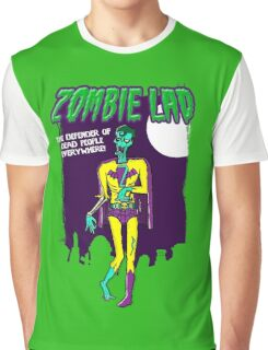 Zombie Lad - Pack Of Heroes Graphic T-Shirt