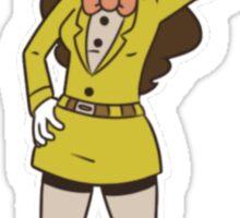 badass banana assistant! Sticker