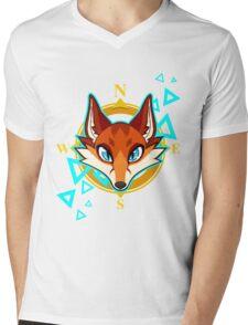 Fox Head Mens V-Neck T-Shirt