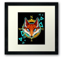 Fox Head Framed Print