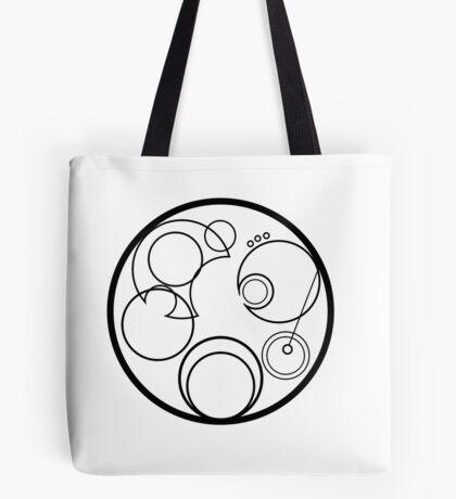 Time Lord Symbol Tote Bag