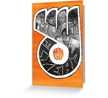 Lets Go Flyers Greeting Card