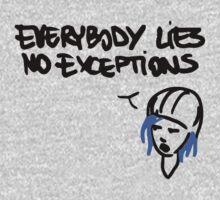 Chloe Price- Everybody Lies Kids Tee