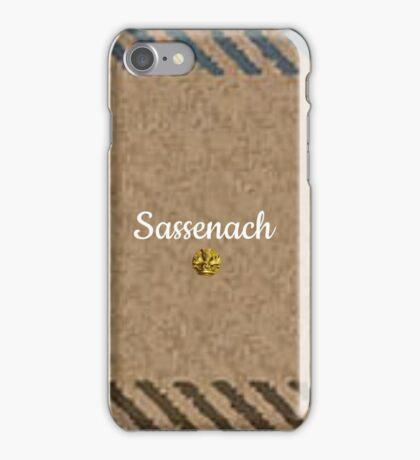 Outlander/Jamie & Claire Fraser/Sassenach iPhone Case/Skin