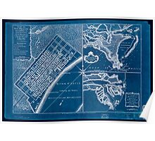 American Revolutionary War Era Maps 1750-1786 751 Plan of New Orleans the capital of Louisiana with the disposition of its quarters and canals as they have Inverted Poster