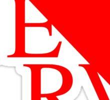 Neon Genesis Evangelion NERVE Logo Sticker