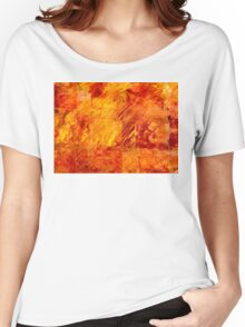Earth Patterns 3 - Autumn Gold Women's Relaxed Fit T-Shirt