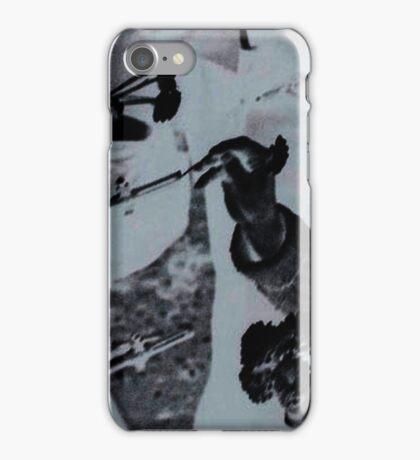 Flowers in Guns Effect iPhone Case/Skin