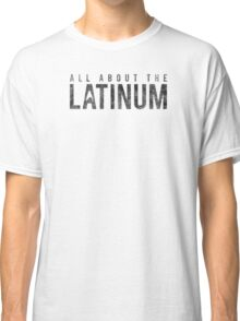 Star Trek - All About The Latinum - Black Dirty Classic T-Shirt