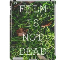 Film Is Not Dead iPad Case/Skin