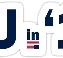 FU in 2016 Sticker