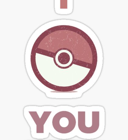 Pokemon - I Choose You Sticker