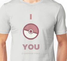 Pokemon - I Choose You Unisex T-Shirt