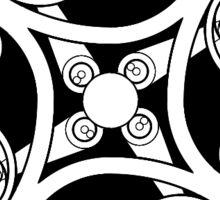 Clockwork Pattern 3 Sticker