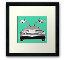 DMC DeLorean Framed Print