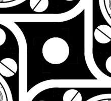 Clockwork Pattern 5 Sticker