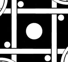 Clockwork Pattern 7 Sticker