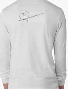 Powered by the Infinite Improbability Drive Long Sleeve T-Shirt