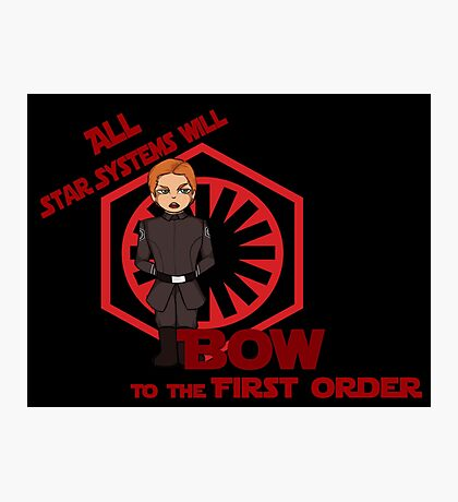 First Order Photographic Print