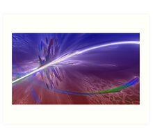 ABSTRACT COSMOS ATMOSPHERE   Art Print