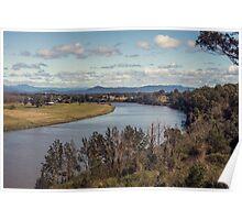 Macleay River, Kempsey NSW Australia Poster