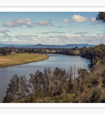 Macleay River, Kempsey NSW Australia Sticker