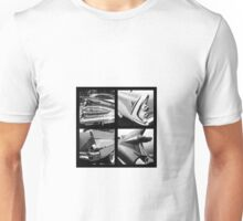 50's American cars tails Unisex T-Shirt