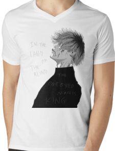 One Eyed King Mens V-Neck T-Shirt