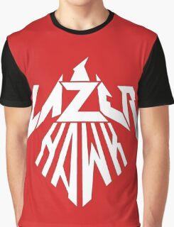 Lazer Hawk Logo Graphic T-Shirt