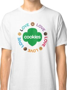 girl scouts cookies Classic T-Shirt