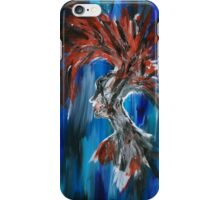 Abstract Silhouette iPhone Case/Skin