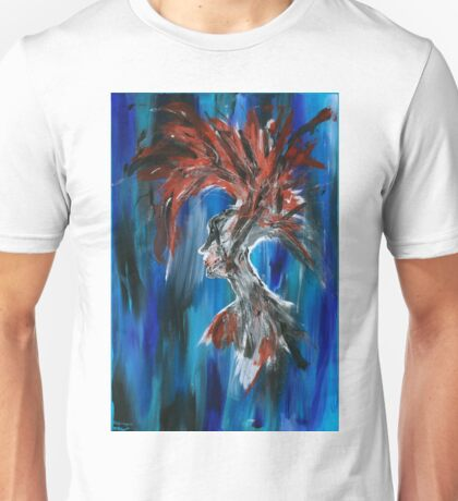 Abstract Silhouette Unisex T-Shirt