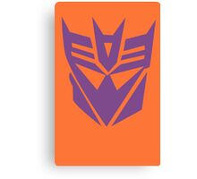 Transformers Decepticon Logo Canvas Print