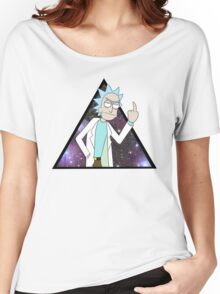 Rick and morty space 2 Women's Relaxed Fit T-Shirt