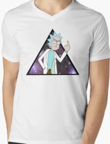 Rick and morty space 2 Mens V-Neck T-Shirt