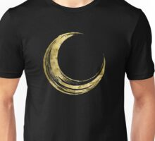 Crescent Moon - Gold Edition Unisex T-Shirt