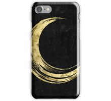 Crescent Moon - Gold Edition iPhone Case/Skin