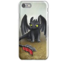 Toothless Dragon inspired from How To train Your Dragon. iPhone Case/Skin