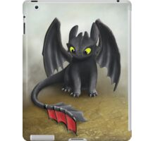 Toothless Dragon inspired from How To train Your Dragon. iPad Case/Skin