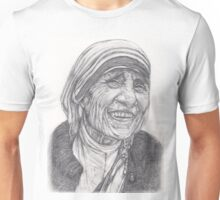 Mother Theresa Drawing Unisex T-Shirt