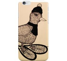 Snowshoeing Francis iPhone Case/Skin